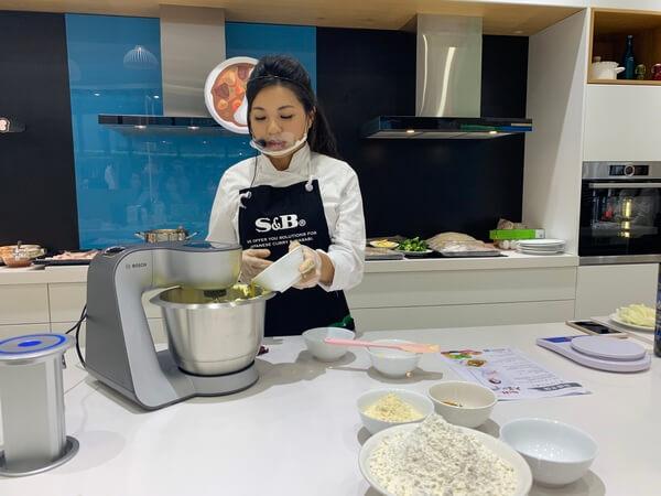 Bosch廚師機